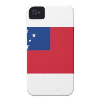 Samoa Flag iPhone 4 Cases