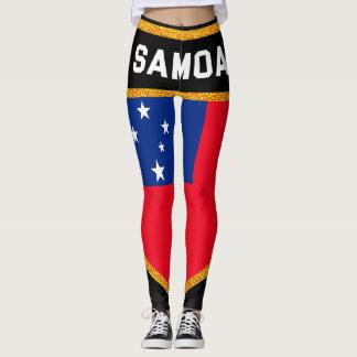 Samoa Flag Leggings