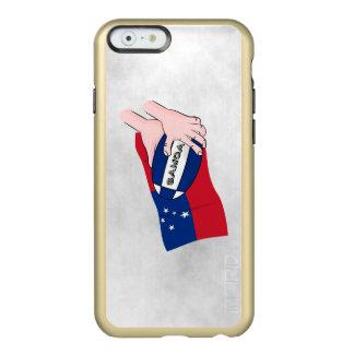 Samoa Flag Rugby Ball Pass Cartoon Incipio Feather® Shine iPhone 6 Case