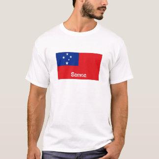 Samoa flag souvenir tshirt