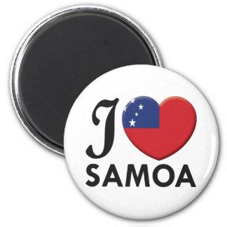 Samoa Love Magnet