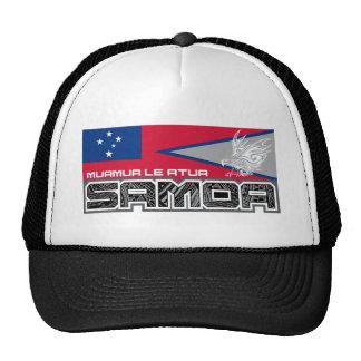 Samoa Muamua Le Atua - American Samoa / Samoa Flag Cap