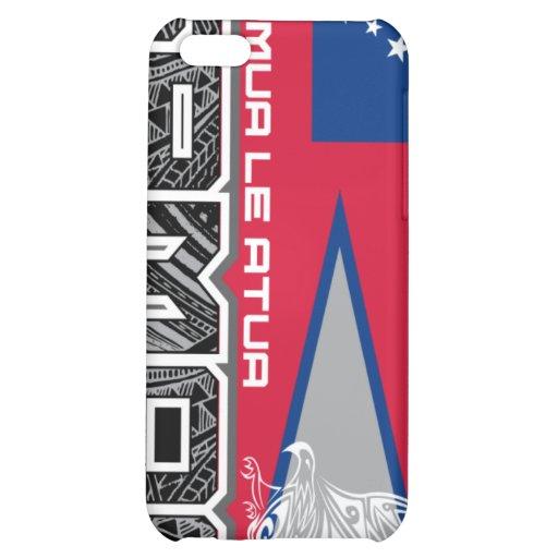 Samoa Muamua Le Atua - American Samoa / Samoa Flag iPhone 5C Cases