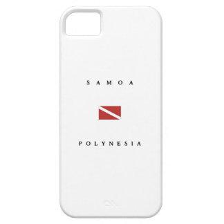 Samoa Polynesia Scuba Dive Flag iPhone 5 Cases