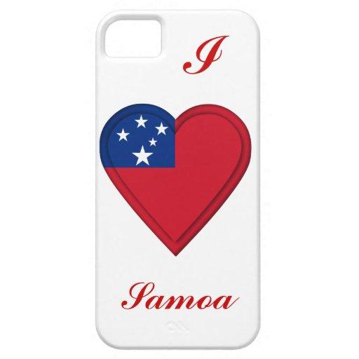 Samoa Samoan flag iPhone 5 Cases
