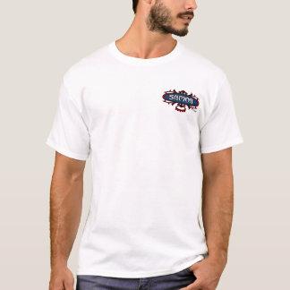 Samoa Surf Ava (Red/Blue) T-Shirt
