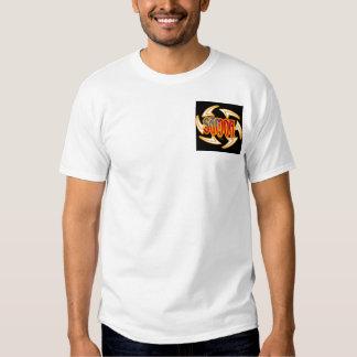 Samoa Tribal Black Tee Shirt