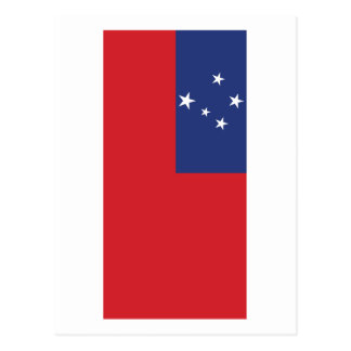 Samoan Flag Postcard