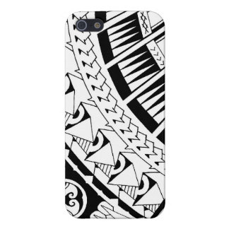 Samoan spearhead tattoo by Mark Storm Cover For iPhone 5/5S