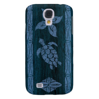 Samoan Tapa Hawaiian Surfboard Galaxy S4 Case