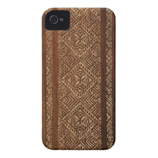 Samoan Tapa Surfboard iPhone 4 Cases