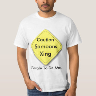 Samoans Crossing T-shirts