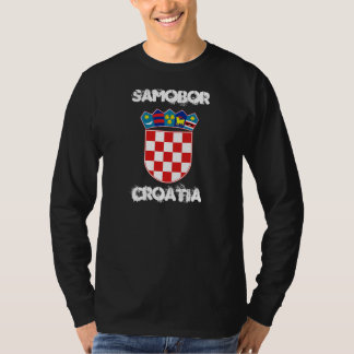 Samobor, Croatia with coat of arms T-Shirt