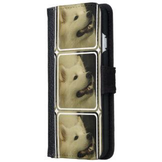 samoyed-4 iPhone 6 wallet case