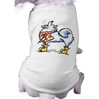 Samoyed American Eskimo Dog Snowflake Doggie Shirt