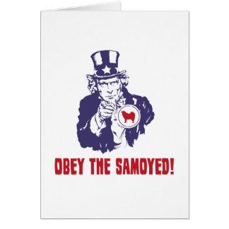 Samoyed Card