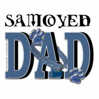 Samoyed DAD Standing Photo Sculpture