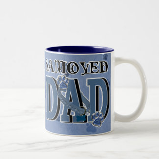 Samoyed DAD Two-Tone Coffee Mug
