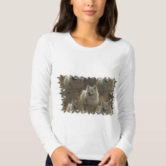 Samoyed Dog Breed Long Sleeve T-Shirt