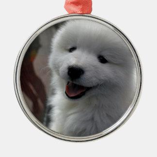 Samoyed Dog Christmas Ornament