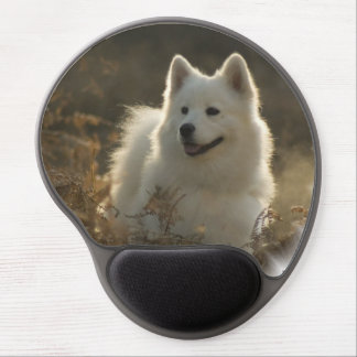 Samoyed Dog Gel Mouse Mat