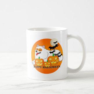 Samoyed Dog Halloween Mugs