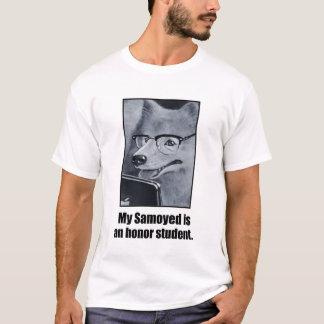 Samoyed Dog Honor Student Men's Tee
