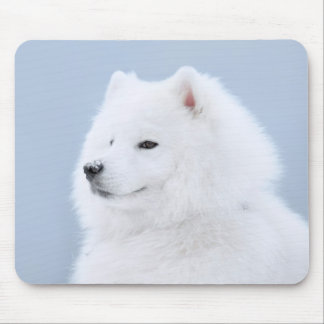 samoyed dog mouse mat