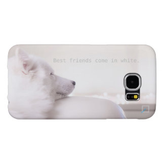 Samoyed dog, Samsung Galaxy S6 Case