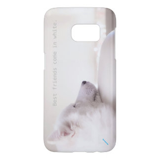 Samoyed dog, Samsung Galaxy S7 Case