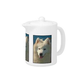 Samoyed Dog Teapot