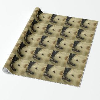 Samoyed Dog Wrapping Paper