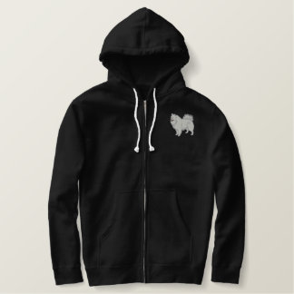 Samoyed Embroidered Hoodie