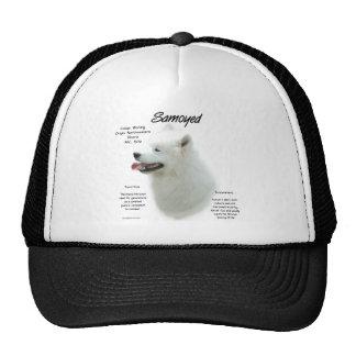 Samoyed History Design Trucker Hats