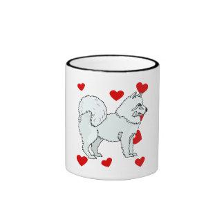 Samoyed Love Coffee Mugs