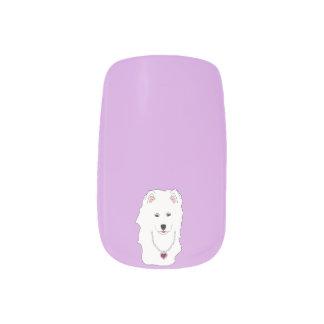 Samoyed Minx Nail Art Decals-Full Manicure Set