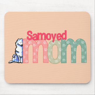 Samoyed Mom Mouse Mat