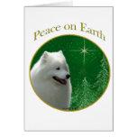 Samoyed Peace Greeting Cards