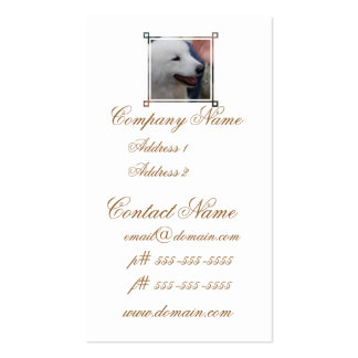 Samoyed Puppy Business Cards
