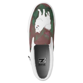 Samoyed Slip-Ons; Mens & Women, Sizes Slip On Shoes
