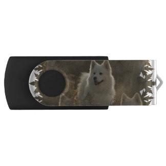 Samoyed Swivel USB 2.0 Flash Drive