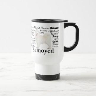 Samoyed Traits Travel Mug