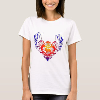 Samoyed Winged Heart T-Shirt