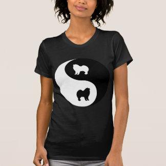 Samoyed Yin Yang Tees