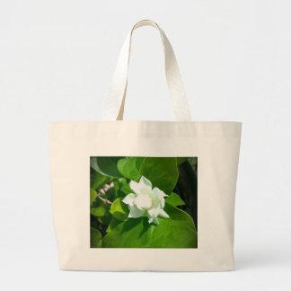 Sampaguita Jasmine flower Jumbo Tote Bag