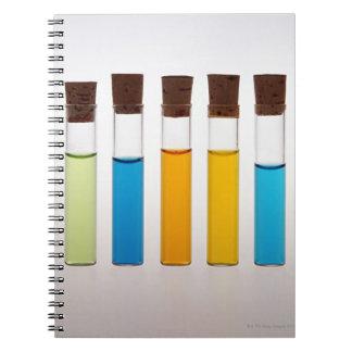 Sample Tube Notebooks