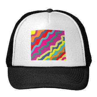 Sample waves pattern waves mesh hats