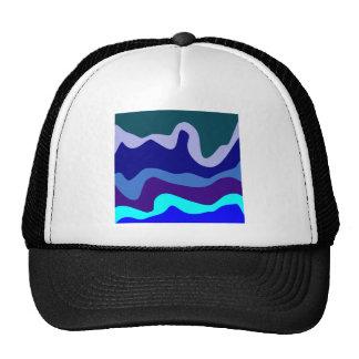 Sample waves pattern waves hat
