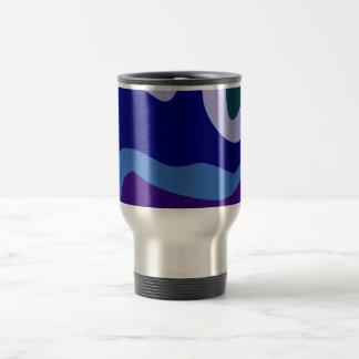 Sample waves pattern waves coffee mug