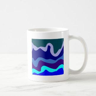Sample waves pattern waves mug